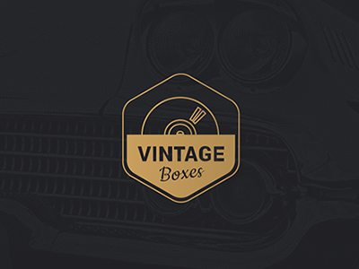 Identidade Visual - Vintage Box